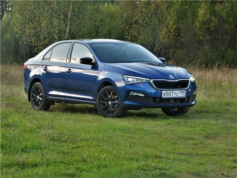 Тест-драйв Skoda_Rapid - Volkswagen Polo наоборот?