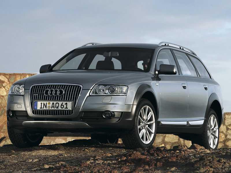 Сравнительный тест Audi A6, Subaru Outback, Volvo XC70, Skoda Octavia - Альтернатива внедорожникам (Audi A6 Allroad Quattro, Skoda Octavia Scout, Subaru Outback, Volvo XC 70)