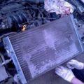 Замена радиатора системы охлаждения Skoda Octavia Tour: описание, процесс