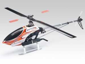 Радиоуправляемый вертолет Thunder Tiger Raptor 50 Titan SE KIT (красный) - TTR4854-K10R