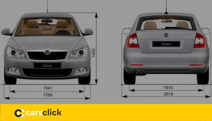 Технические характеристики Шкода Октавиа (Skoda Octavia) 2021-2020 - габариты, клиренс, объем багажника