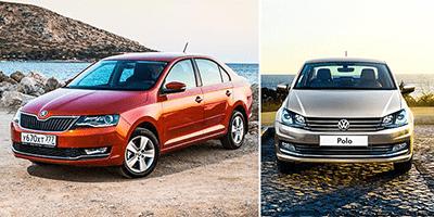 Что выбрать «Поло» или «Рапид», сравнение Skoda Rapid и Volkswagen Polo