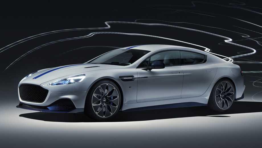 Представлен серийный электромобиль Aston Martin Rapide E — Авторевю