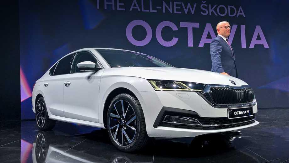 Skoda Octavia похвасталась моторами иэлектроникой — ДРАЙВ