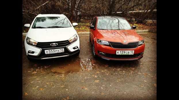 Какой автомобиль лучше: LADA Vesta или Skoda Rapid