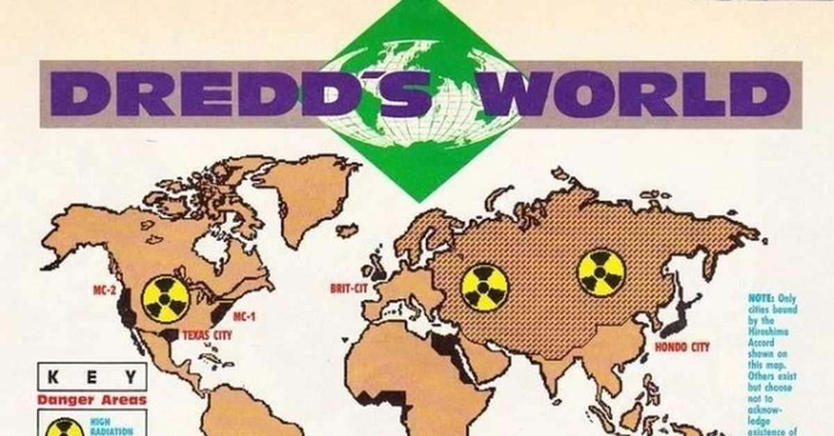Сленг и терминология мира судьи Дредда ⋆ Судья Дредд и миры 2000AD