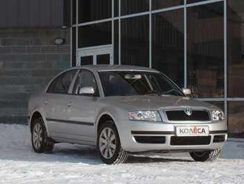 Skoda Superb V6 2.5TDI Comfort: двухмоторный штурмовик - КОЛЕСА.ру – автомобильный журнал